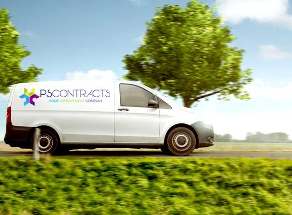 SIPs Garden Room UK Delivery Van
