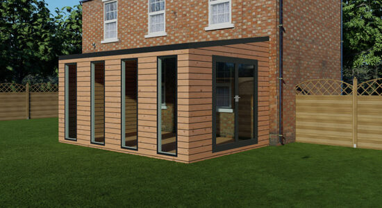 Serenity Extension In Thermo Wood